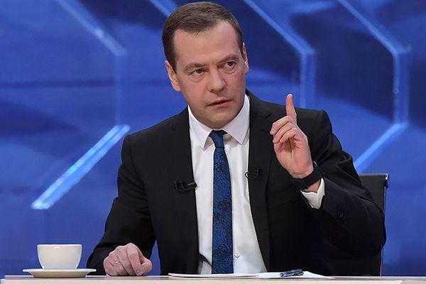 Медведев поведал оросте ВВП иуровне инфляции