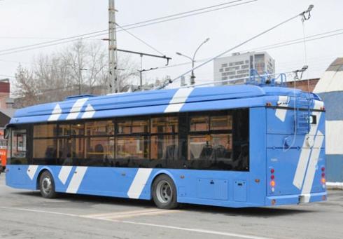 В уральской столице начали тестирование первого электробуса