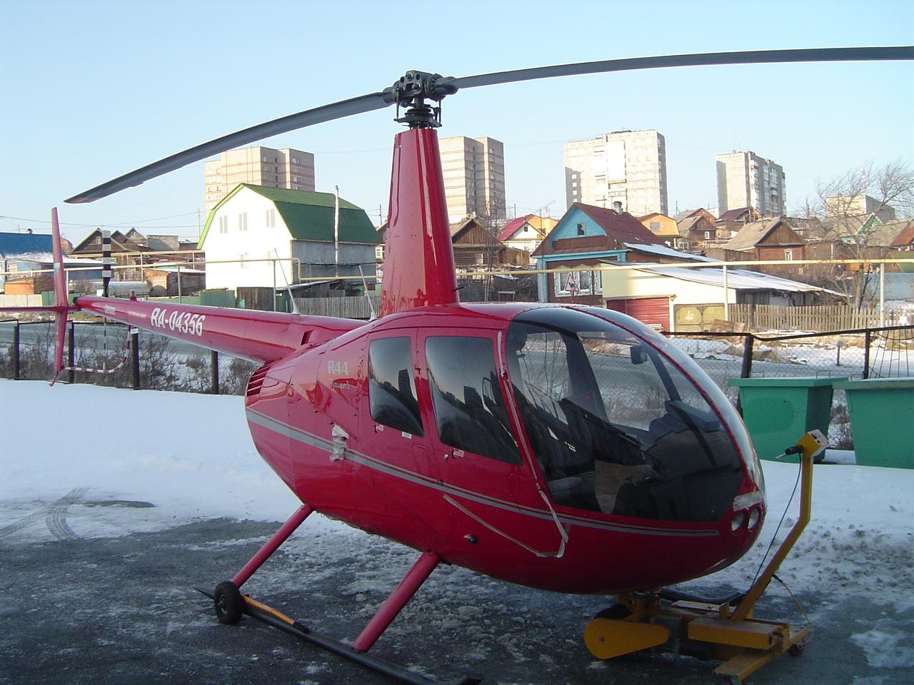 Уральский завод лишился вертолета задолги перед сотрудниками