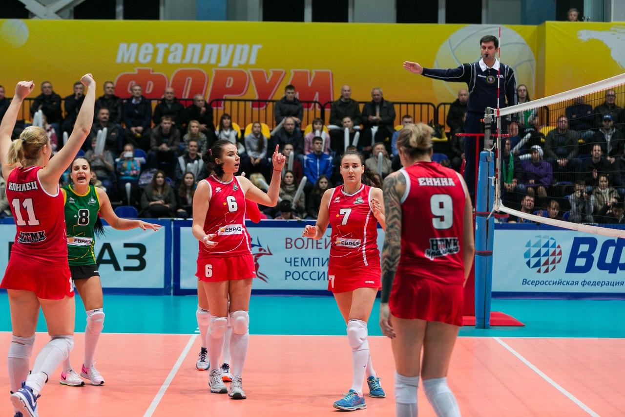«Уралочка» в настойчивой борьбе одержала победу над «Заречьем-Одинцово»