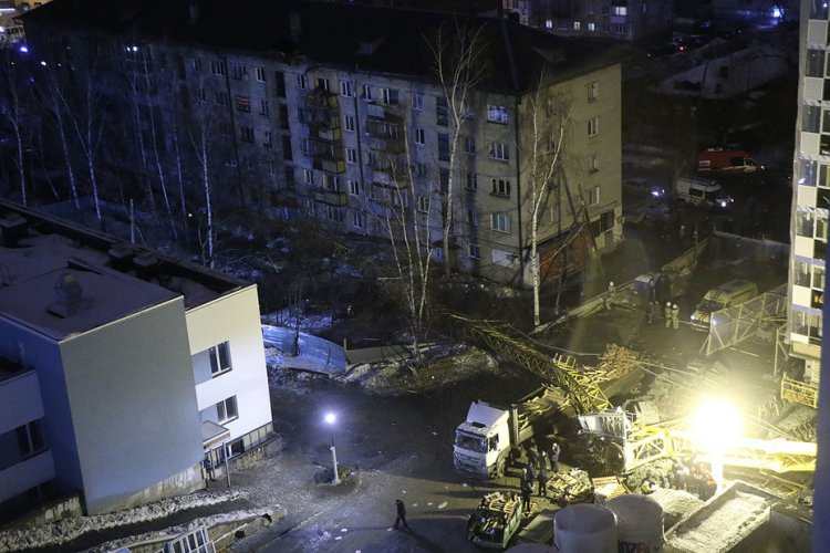 Условный срок получил виновник падения крана и погибели машиниста вЕкатеринбурге