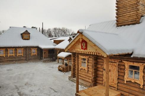 На Урале воссоздали казачий острог 300-летней давности