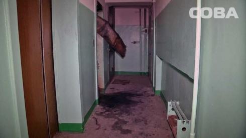 Ночью в доме на Вторчермете сгорел лифт