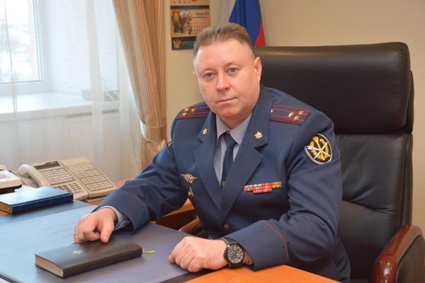 Михаил Мезин назначен начальником УФСИН Российской Федерации поЛипецкой области