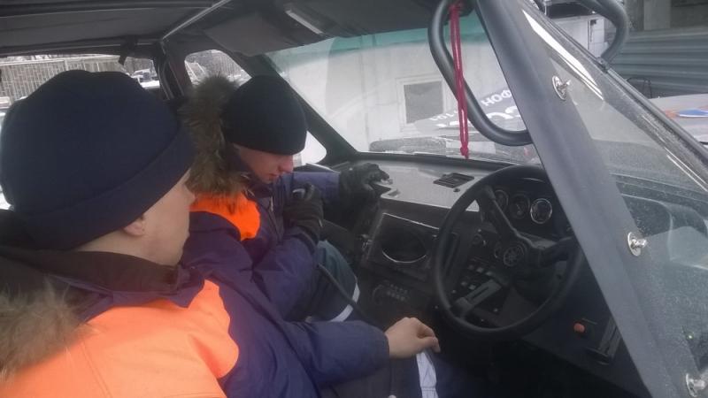 Аэролодка «Пиранья 6» выходит на дежурство в Свердловской области