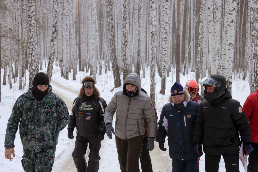 Евгений Куйвашев, Антон Шипулин и Сергей Чепиков обсудили создание многофункционального биатлонного центра в Екатеринбурге