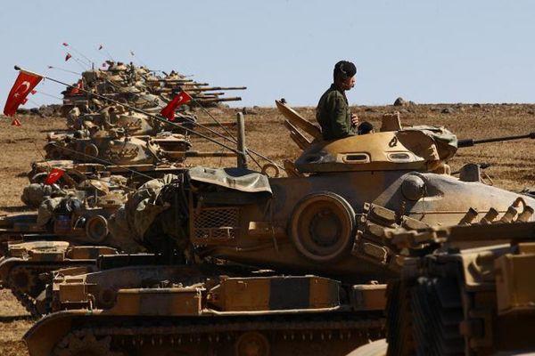 Эрдоган: турецкая армия возьмет Африн вкольцо