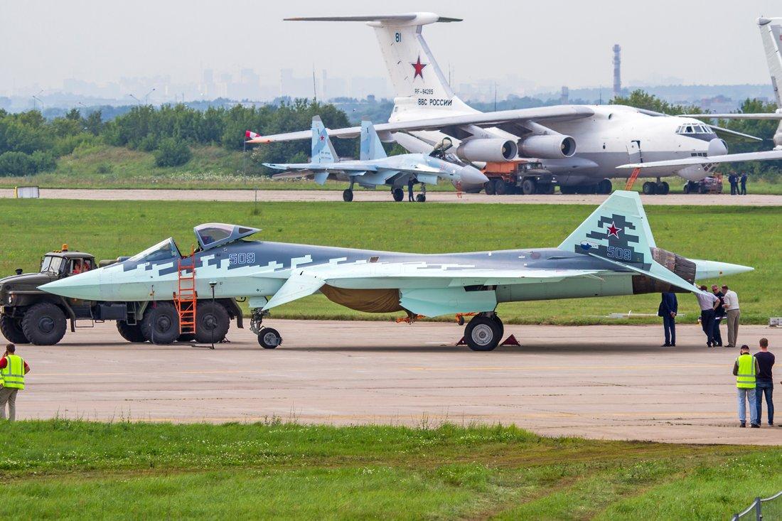 Группировка Су-57 в Сирии увеличивается