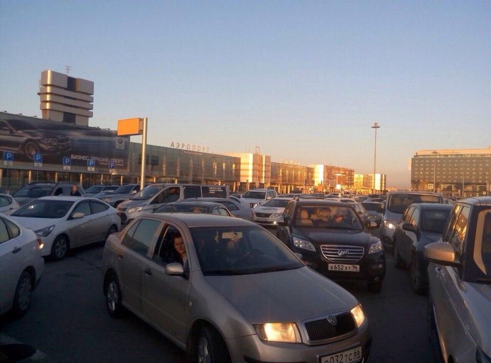 Аэропорт Кольцово занял 2-ое место в РФ подешевизне длительной парковки