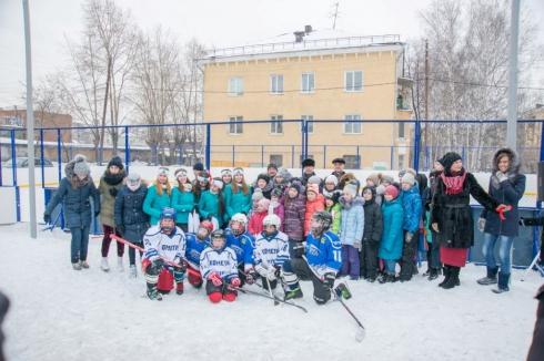 В Екатеринбурге открыли новый ледовый корт