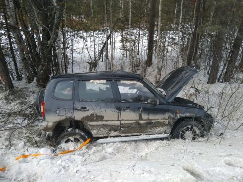 В аварии в Сысертском городском округе погибла женщина-водитель