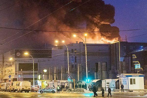 Бастрыкин считает короткое замыкание предпосылкой пожара вкемеровскомТЦ