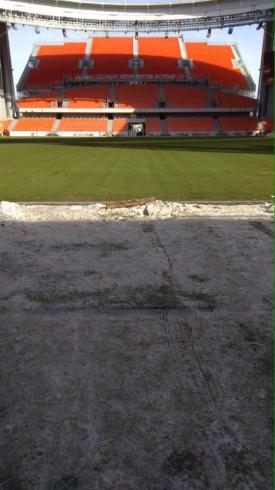 «Екатеринбург Арена» готова принять тестовые матчи с участием российских клубов