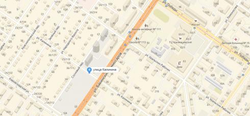 Больше года будет перекрыт участок улицы Калинина в Екатеринбурге