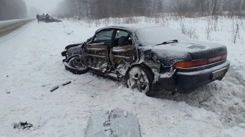 В ДТП на трассе Нижний Тагил — Верхняя Салда пострадали два человека, в том числе ребенок