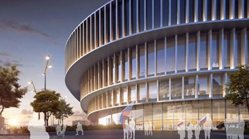 УГМК презентовала проект ледовой арены, которую построят вместо «башни смерти»