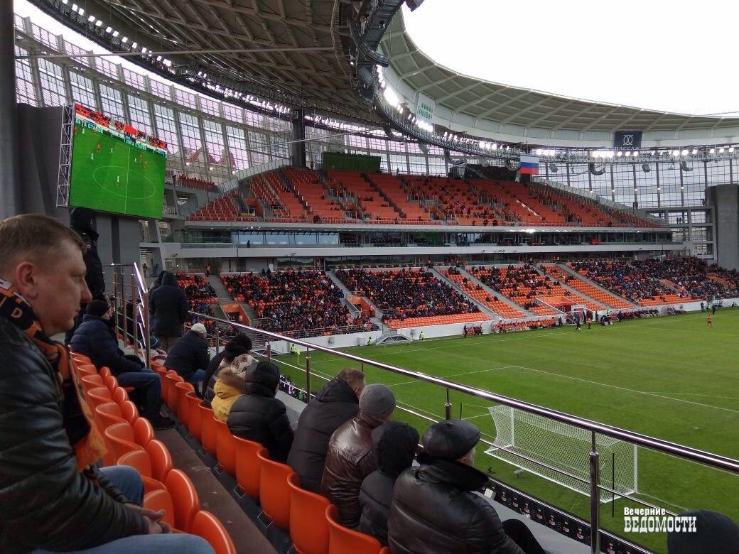 Алексей Сорокин: 1-ый тестовый матч на«Екатеринбург Арене» прошел вполне неплохо