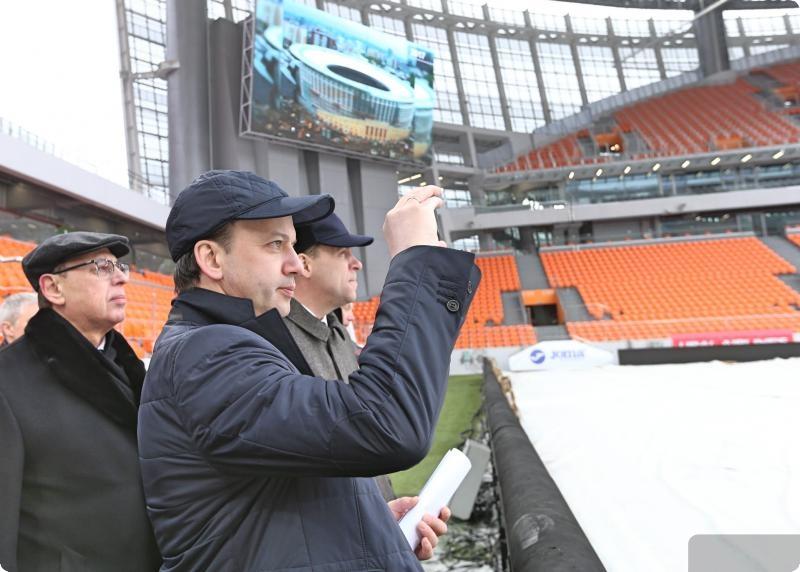 «Самара-Арена» должна быть введена встрой к25апреля— Аркадий Дворкович