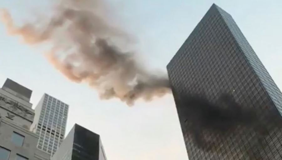 В доме американского президента произошёл пожар