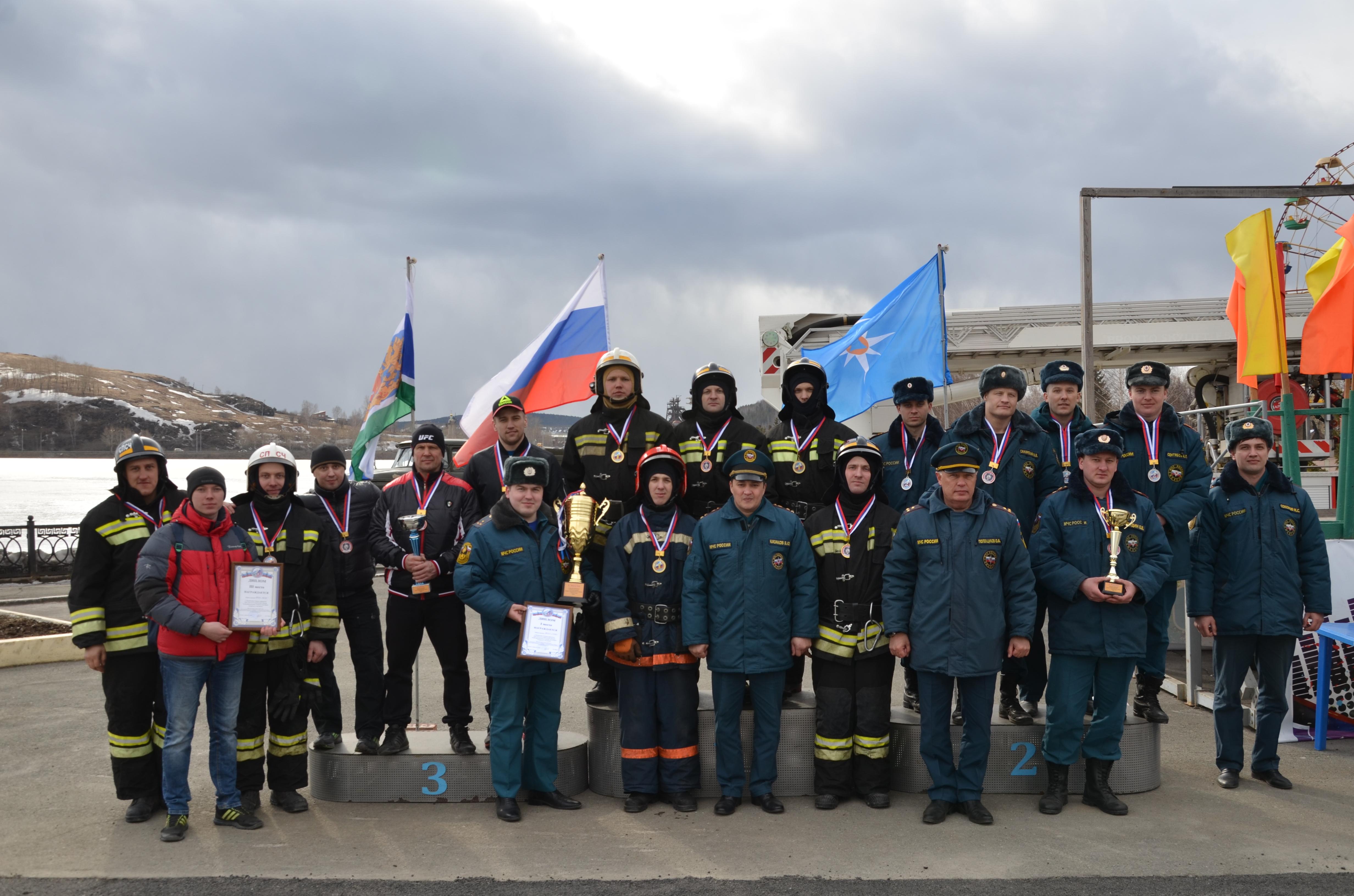 В Свердловской области прошел I Чемпионат по пожарно-спасательному кроссфиту