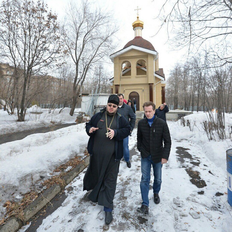 Благодаря Владимиру Бурматову вЧелябинске достроят храм