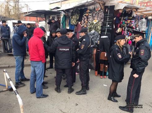 Нападение около «Таганского Ряда» на борца со стихийным рынком раскрыто