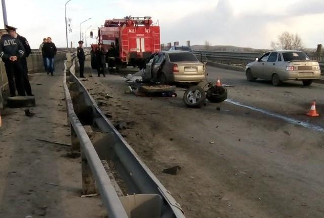 В результате ДТП под Первоуральском погибли два человека
