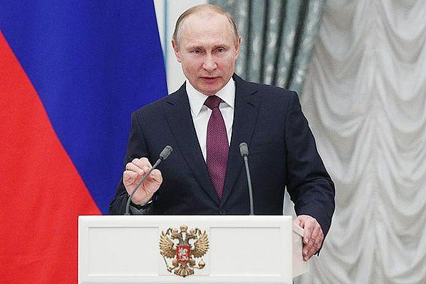 Владимир Путин вступил вдолжность президента РФ в 4-й раз
