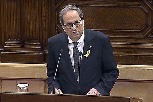 Новый глава Каталонии не стал присягать на верность королю Испании