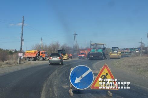 В Белоярском приступили к ремонту дороги, соединяющей несколько сел