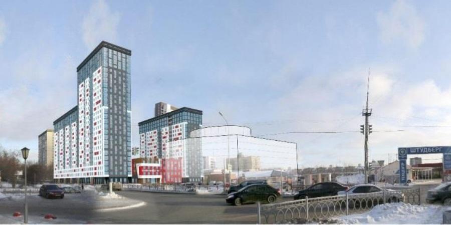 В Екатеринбурге на улице Комсомольской начали сносить «Юмакс», на его месте появится жилой комплекс