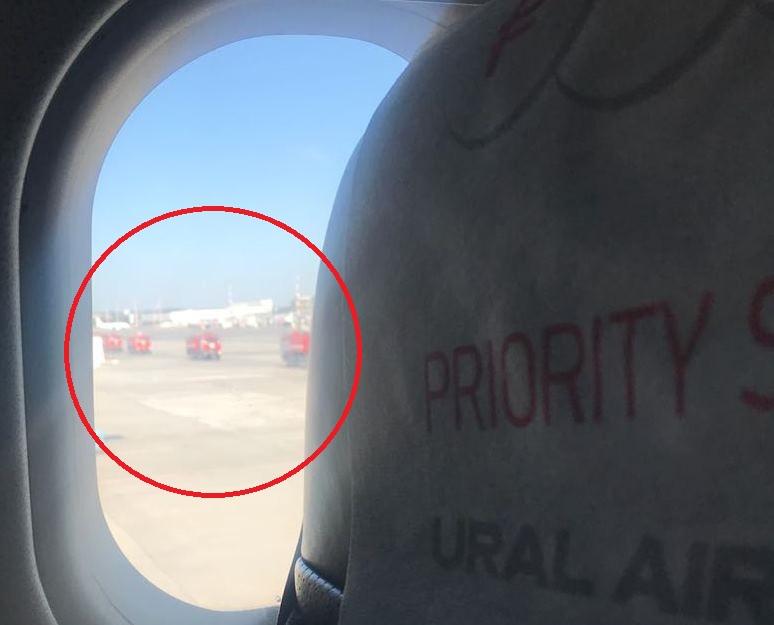 В аэропорту Кольцово совершил аварийную посадку на одном двигателе самолёт «Уральских авиалиний»