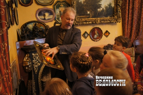 Екатеринбургские детсадовцы окунулись в XVIII век