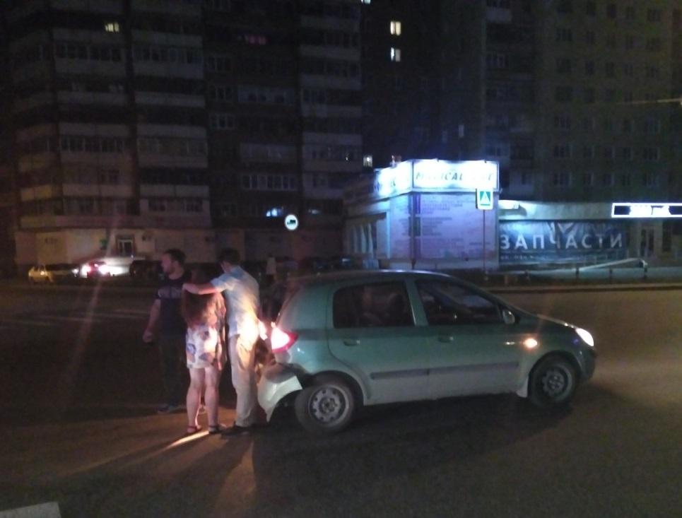 На Эльмаше грузовая «ГАЗель» совершила таран на перекрёстке
