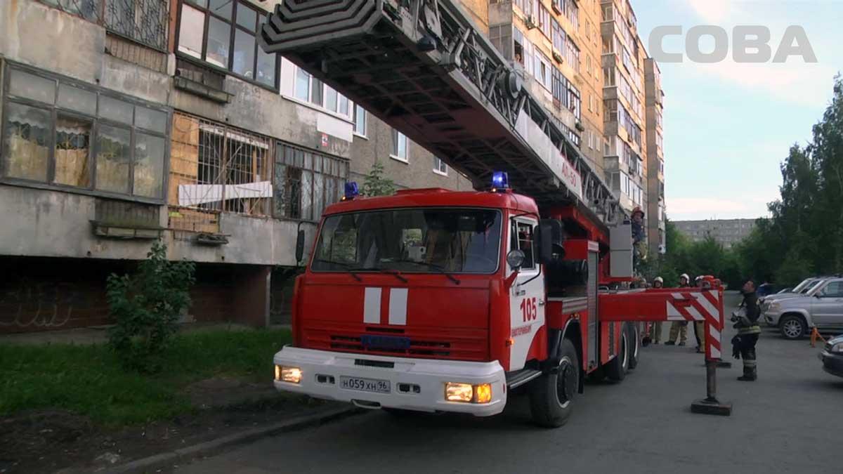 На Волгоградской пожарные спасли женщину, забывшую на плите гречневую кашу