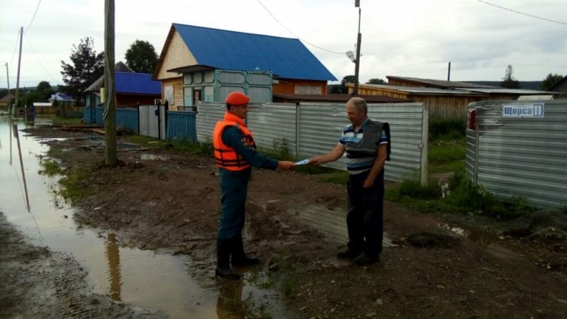 Паводковая обстановка в Ивделе стабилизируется — вода уходит
