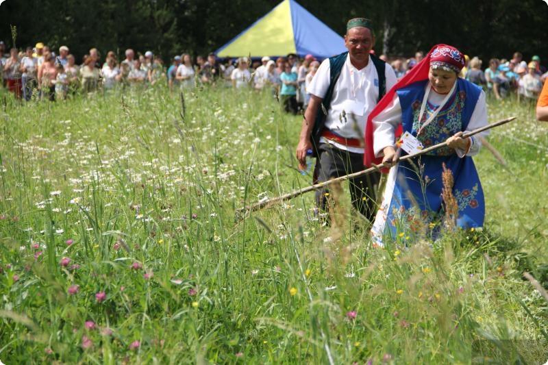 Более пяти тысяч человек приняли участие в турнире косарей в Арти