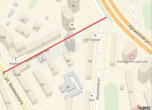 В Екатеринбурге почти на месяц закроют для транспорта переулок Переходный