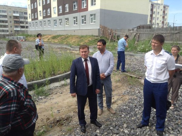 В Камышлове больше года не могут достроить дома для переселенцев из аварийного жилья