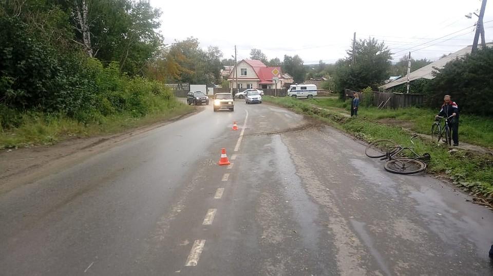 ВСвердловской области схвачен лихач, задавивший велосипедиста