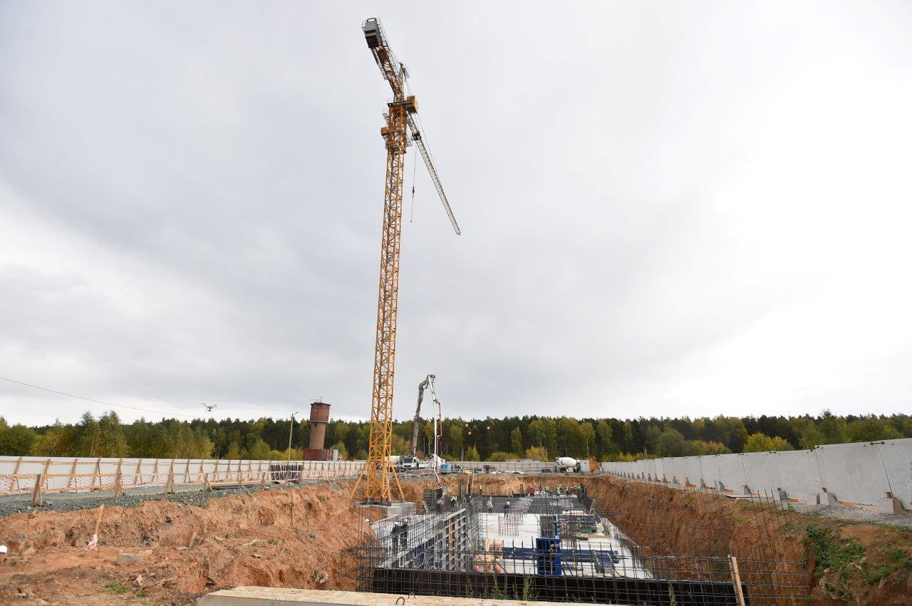 Строительство одного из крупнейших жилых районов началось в северной части Екатеринбурга