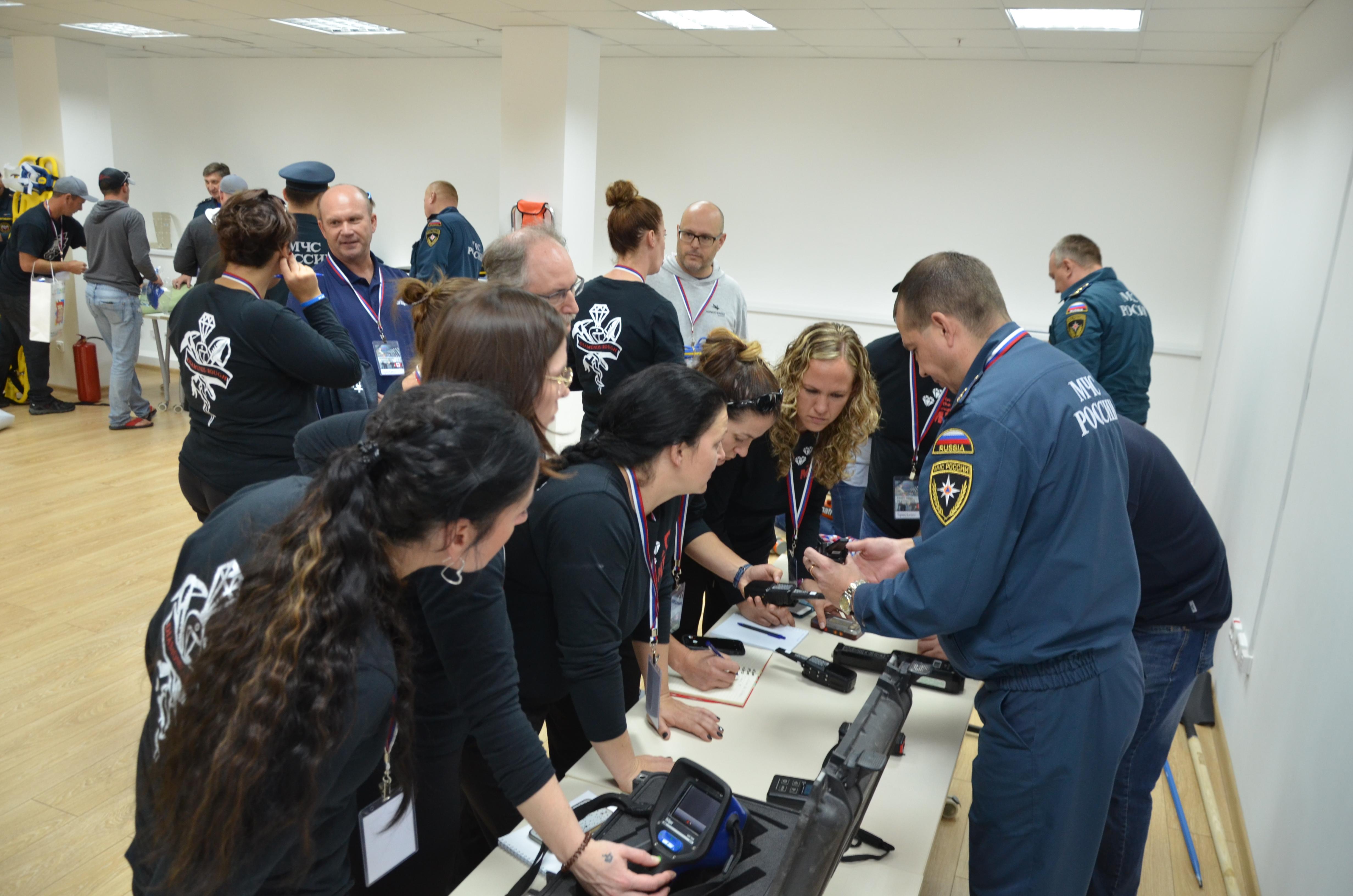 На Урале стартовали международные горноспасательные соревнования