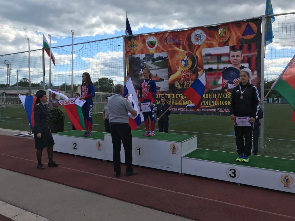 Юная свердловчанка взяла золото на чемпионате мира по пожарно-спасательному спорту