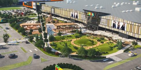 В Екатеринбурге рядом с ТЦ «Мега» появится парк развлечений за полмиллиарда рублей