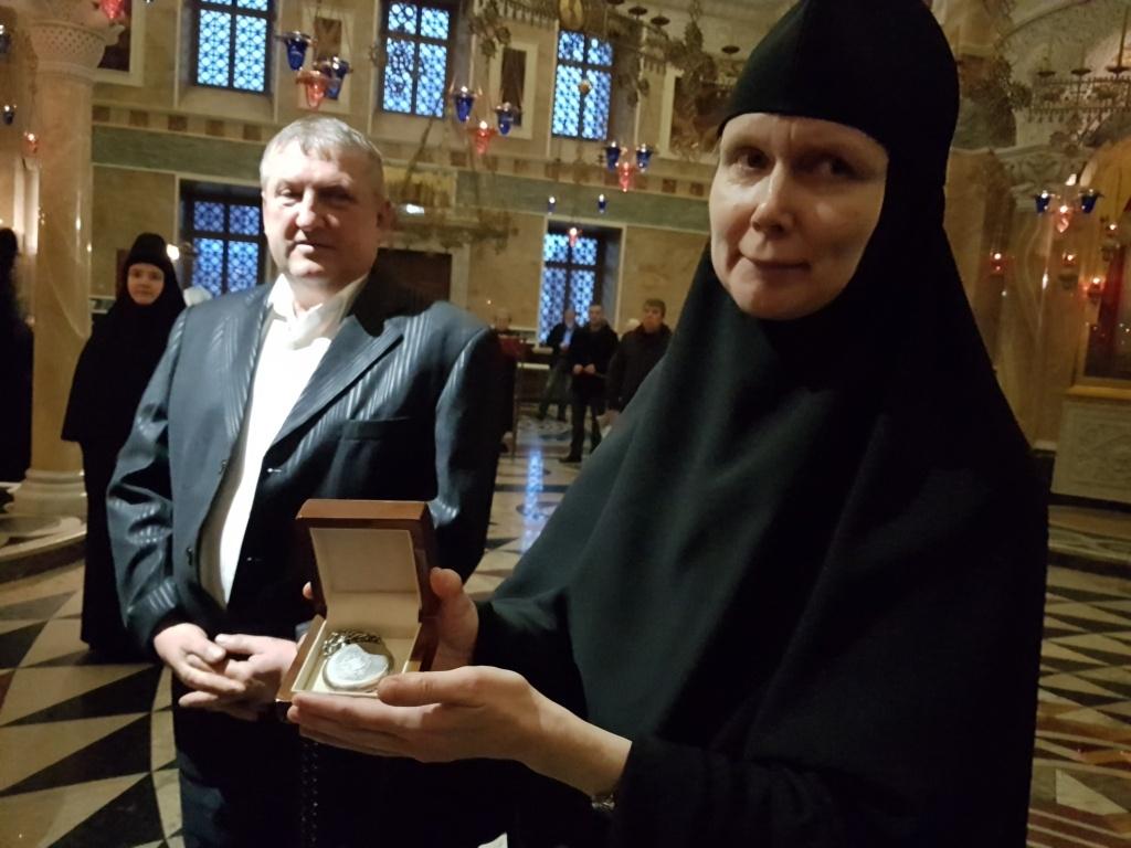 Часы доктора Евгения Боткина передали вНово-Тихвинский монастырь Екатеринбурга