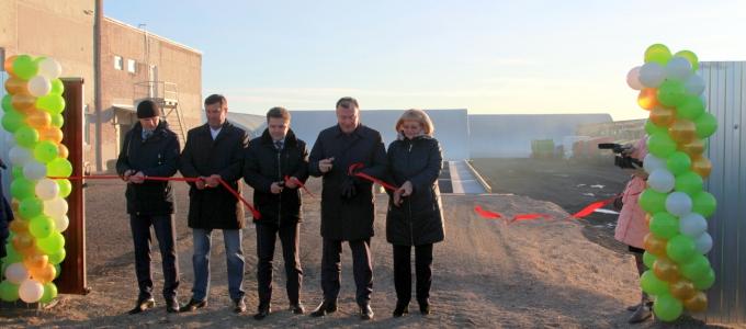 В селе Гарашкинское на месте бывшего совхоза открыли сельскохозяйственный комплекс