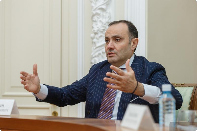 Евгений Куйвашев встретился с послом Армении в РФ Варданом Тоганяном