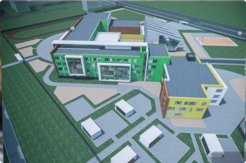 В Екатеринбурге заложен первый камень нового детского сада – школы