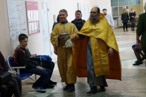 Руководство попросило: в Первоуральске освятили металлургический колледж