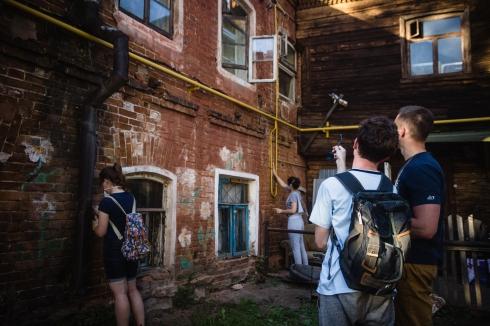 «Том Сойер Фест»: активисты восстановили исторический облик здания на Вайнера